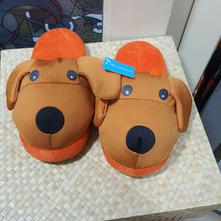 Dog slippers fit up to size 5