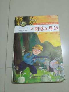 Chinese Book - The sun set beside me (Primary school)