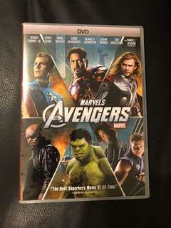 WTS Used Original Marvel Avengers DVD