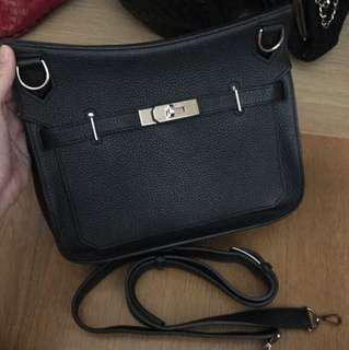 💖Like New 💖Hermes Jypsiere 28 Black Noir Phw #Q