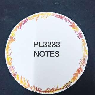 PL3233 NOTES