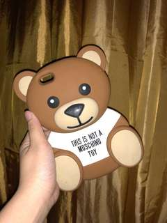 Selling my Moschino toy bear ip6+ case