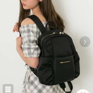 日本 Jill by jill stuart backpack 背囊 包 袋  尼龍