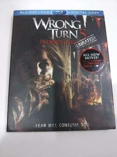Brand New Blu Ray Disc (Title: Wrong Turn 5)