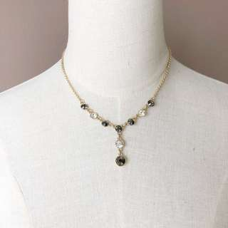 Monet Y Shape Jewel Necklace