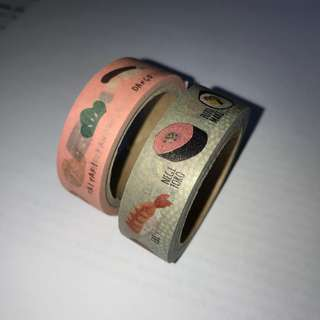 USED washi tapes