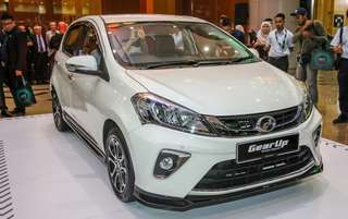 GEAR Up new myvi'17-18 bodykit