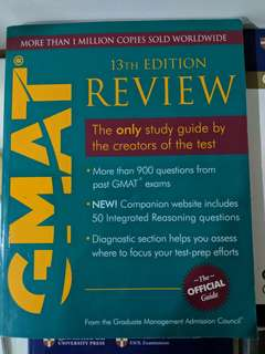 GMAT Official Guide (like new!)