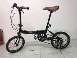 VINTAGE MINI COOPER FOLDING BIKE ALL PARTS ARE ORIGINAL