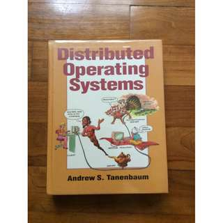 Distributed Operating System by Andrew S Tanenbaum