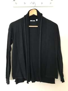 Black Uniqlo Cardigan