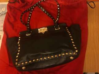 Valentino Bag black 手袋 Authentic
