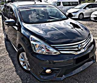 SAMBUNG BAYAR / CONTINUE LOAN  NISSAN GRAND LIVINA 1.8 AUTO HIGH SPEC