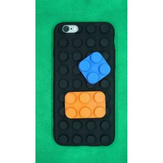 3D Blocks Soft Silicone Case for iPhone 6