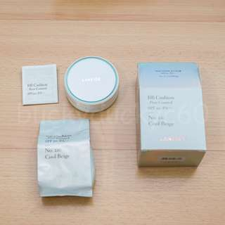 🚚 LANEIGE BB Cushion Pore Control SPF 50+ PA+++ No. 21C Cool Beige