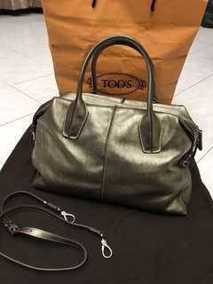 Authentic Tods handbag with long straps