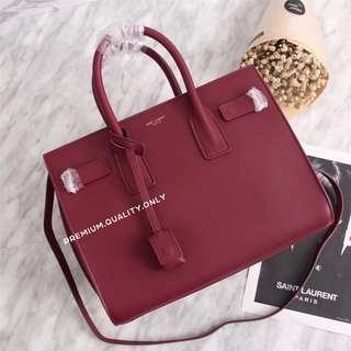 YSL Sac De Jour Small In Red