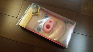 豬鼻紙巾盒