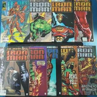 Iron Man #1-#9