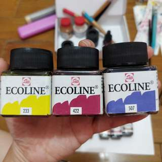 Talens Ecoline Watercolour 30ml (3 bottles)