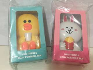Line Friends Sally Cony 風扇