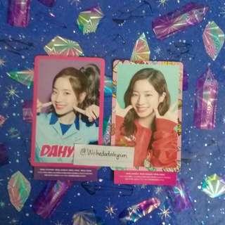 Twice Dahyun Japan Photocard RARE