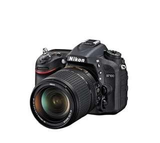 NIKON D7100 BLACK DSLR Camera with 18-140MM Lens