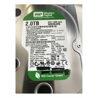 "Internal Hard Disk 2TB 3.5"" Western Digital"
