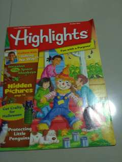 Magazine  - Highlights Fun with a purpose