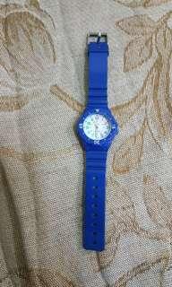 🚚 二手💝藍色兒童童手錶