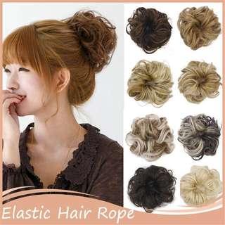 Human Hair Wigs (Elastic)