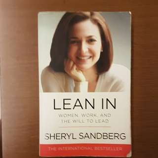 Used: Lean In by sheryl sandberg