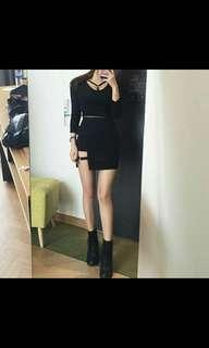 H&M Inspired Leg Garter Skirt
