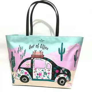 Kate Spade rami tote out of office 100% authentic