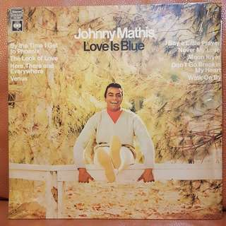 Johnny Mathis - Love Is Blue Vinyl Record