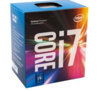 Intel Core i7 7700 中央處理器及MSI微星B250 GAMING PRO CARBON主機板