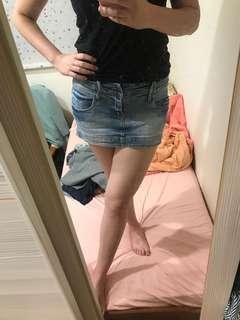 🚚 衣櫃出清🙏🏻低腰牛仔短裙