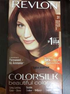Revlon Hair Dye colorsilk Dark Auburn