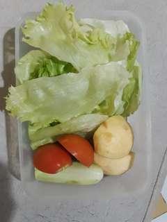 Makanan sehat halal dan no MSG