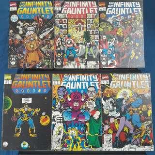 Infinity Gauntlet #1-#6 (Complete)