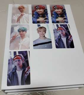 (wts) bts memories of 2017 photocards