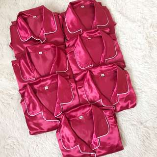 Long or Short Sleeves + Shorts sleepwear set