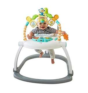 (PO) Fisher-Price Colorful Carnival SpaceSaver Jumperoo