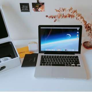 """MacBook pro 2012年中 13"""" 8G/500G『贈office系列』"""