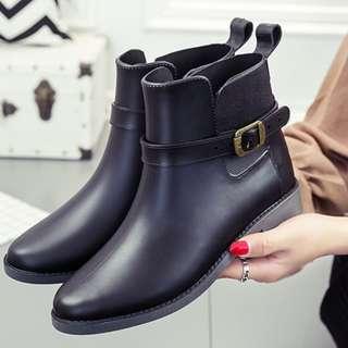 🚚 0630短筒金環扣雨靴