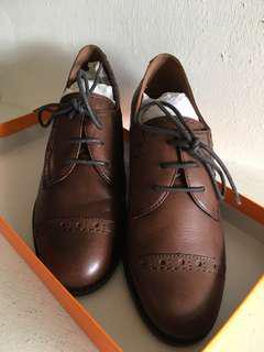 🚚 女款牛津鞋 咖啡 36號
