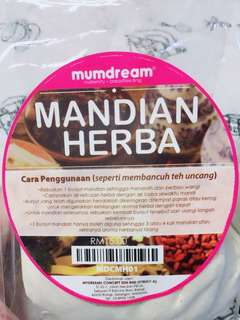 Mumdream uncang mandian herba pack of 2