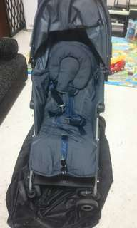 maclaren quest stroller denim