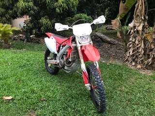 2013 CRF450X for sale