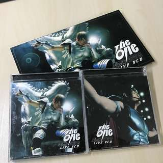 🚚 周杰倫The One演唱會Live VCD